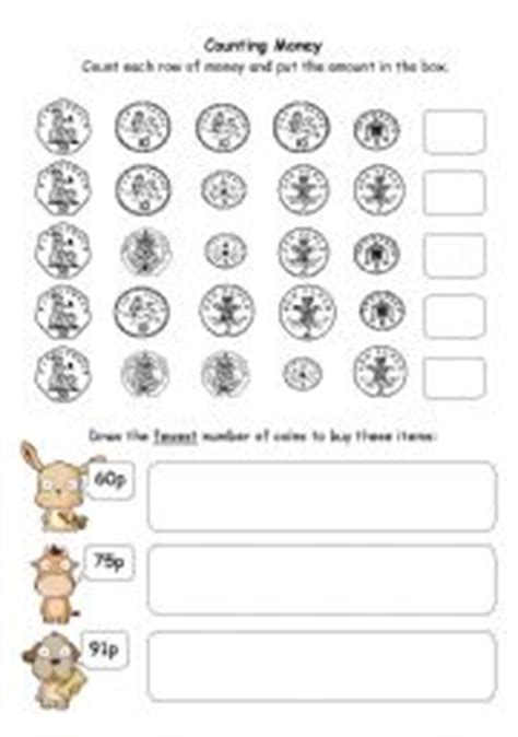 counting money upto 50p esl worksheet by jasvoss