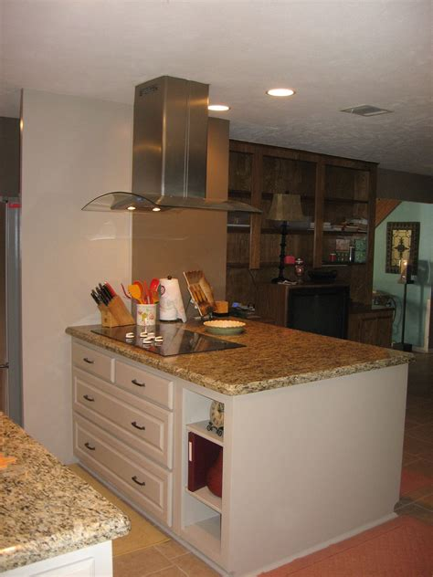 how to remove kitchen island kitchen remodel after removing load bearing wall and 7335