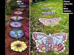 Collection Of Garden Decor With Stones Stone Sculpture