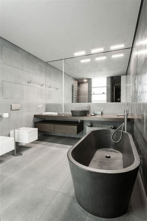bathroom decor modern rustic and industrial meet in a chic moscow studio Industrial