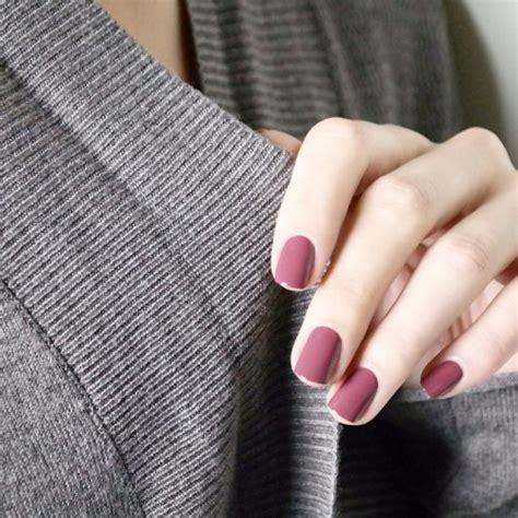 plum nails tumblr