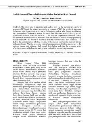 Jurnal fikri (hal 165 170) by Jurnal Perspektif Pembiayaan