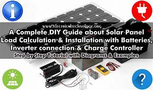 How Many Solar Panels  Batteries  U0026 Inverter Do I Need For
