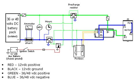 Yale Forklift Four Way Switch Wiring Diagram by Electric Car Conversion Project Forkenswift Page 23