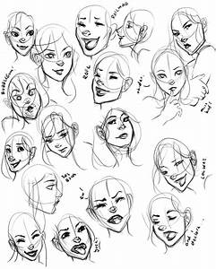 24 best facial expressions images on Pinterest | Drawing ...