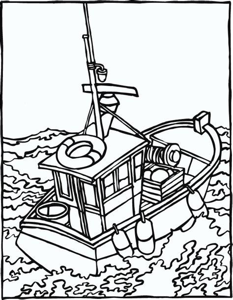 Dessin Bateau Mer by Coloriage En Mer 2