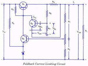 Controlled Transistor Series Regulator With Overload