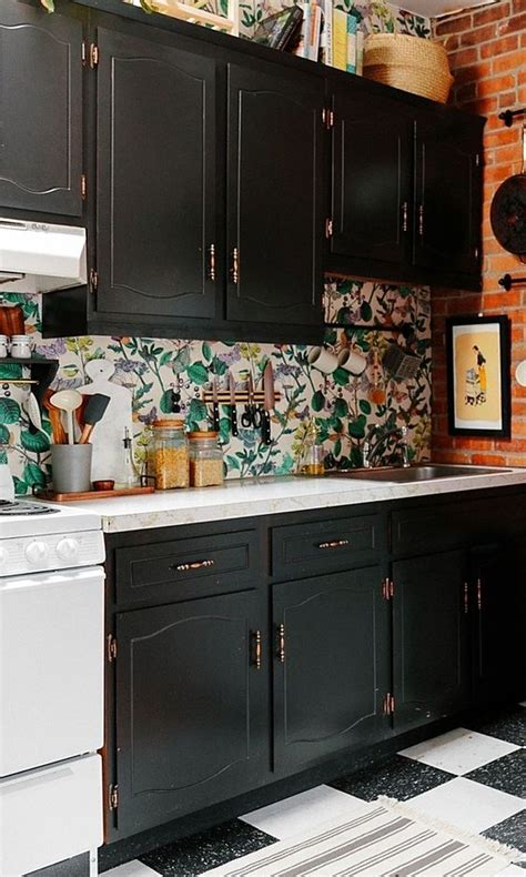 Backsplash Wallpaper For Kitchen by 25 Wallpaper Kitchen Backsplashes With Pros And Cons