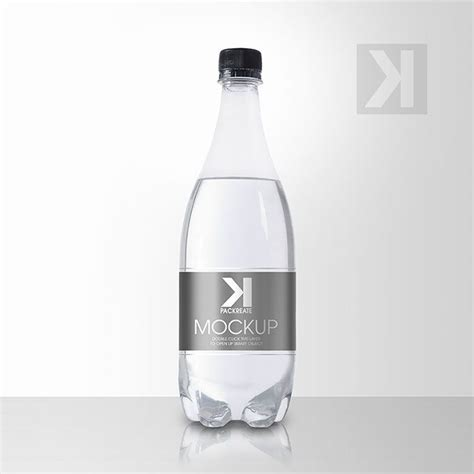 Free for personal and commercial use. Packreate » Beverage Clear Plastic Bottle PSD Mockup ...