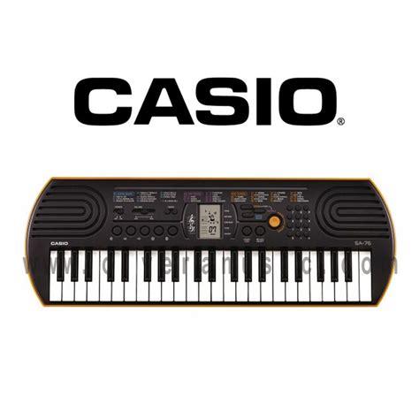 Casio Sa76 by Casio Miniteclado De 44 Teclas Olvera