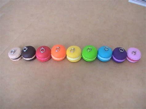 divers coloris macarons photo de macarons en p 226 te fimo 224 vendre cr 233 ations en p 226 te fimo