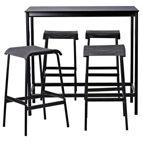 Ikea Stornas Bartafel by Garpen Bar Table And 4 Bar Stools Ikea Bar Stool Leg