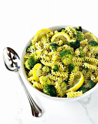 Broccoli Pasta Garlic Gluten Lemon Spiritedandthensome Carlene