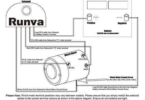 winch solenoid switch wiring diagram get free image
