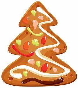 Cookie clipart chirstmas - Pencil and in color cookie ...