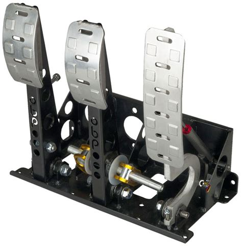 obp pro race floor mount 3 pedal assembly 2 pot dbw w o