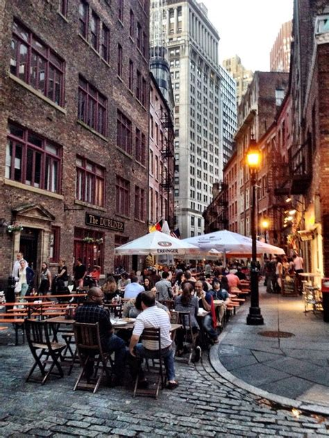 Stone Street For Dinner One Of My Top Five Favorite