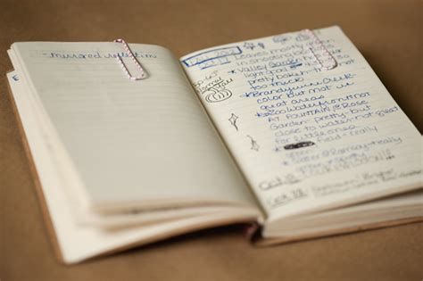 How To Keep A Photography Journal