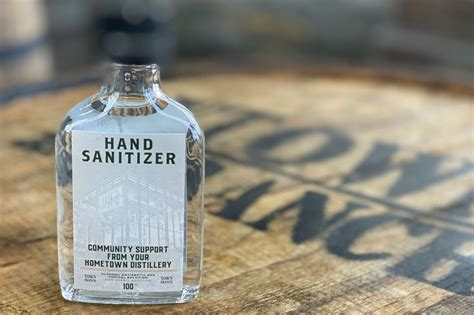 whiskey producers  making hand sanitizer heres