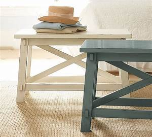 8 creative coffee table ideas the soothing blog for Two small tables instead of coffee table
