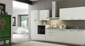 Cucina dal design moderno modello cloe finitura lino for Cucina design moderno