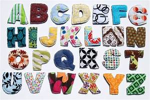 unisex plush fabric alphabet letters soft learning and With soft alphabet letters