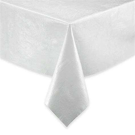 table pads at bed bath and beyond vinyl table pad in white bed bath beyond