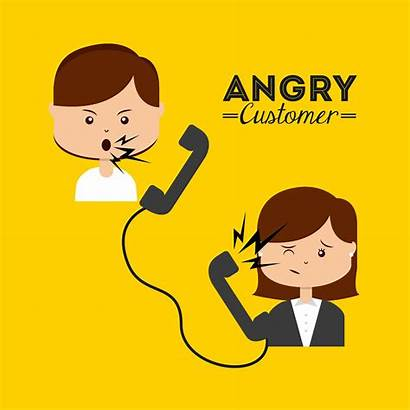 Complaints Types Customer Angry Vector Consumer Vectors
