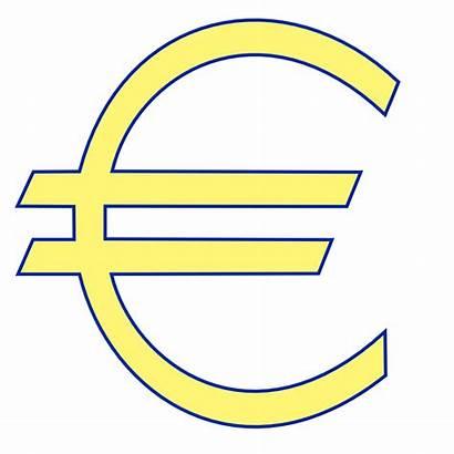 Euro Money Symbol Sign Clip Clipart Vector