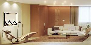 rendered minimalist spaces by rafael reis With brown and cream living room designs