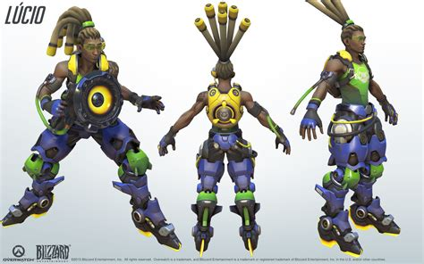 Lucio Cosplay Reference Guide 3 Overwatch In 2019