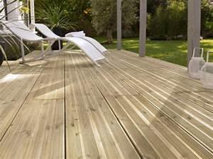 Lame De Bois Pour Terrasse : poser une terrasse en lames bois wikifab ~ Melissatoandfro.com Idées de Décoration