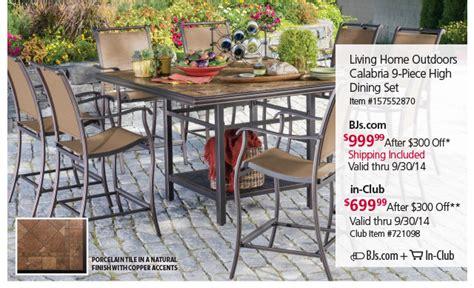 bjs wholesale club in club patio set savings