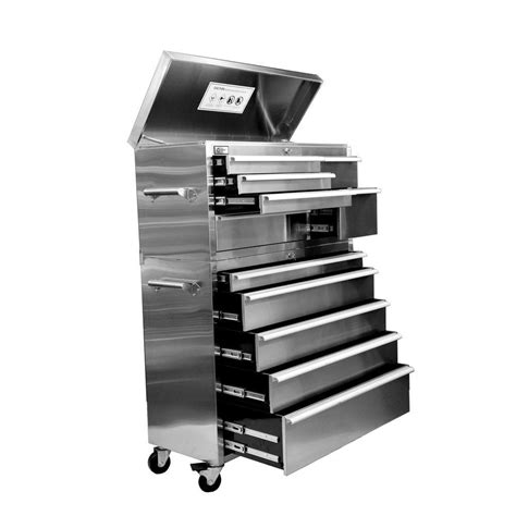 Metal Tool Box Dresser by Home Entertainment 41 In 11 Drawer Tool Chest