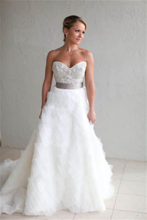 Lazaro Bridal Gown In Sarasota Florida Jlm Couture