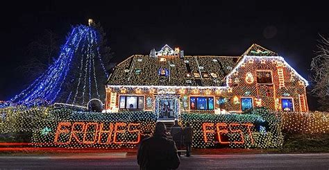 best chrsitmas lighting on east side top 5 house lights displays in u s buffalo made the list