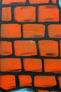 Wall graffiti drawing stock illustration. Illustration of ...