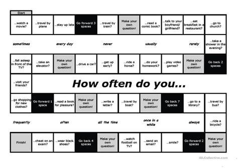 How Often Do You ? Worksheet  Free Esl Printable