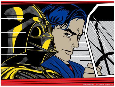 Super Punch: Roy Lichtenstein inspired Star Wars art
