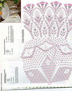 Crochet Round Tablecloth Diagram