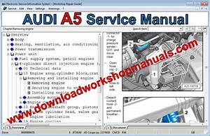 Audi A5 Workshop Repair Manual
