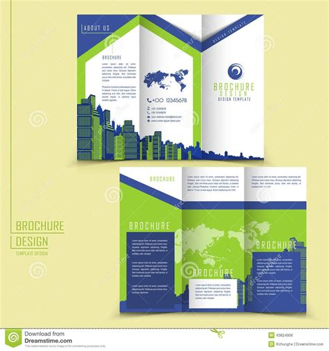 3 Folded Brochure Template by 3 Folded Brochure Template Brickhost 2720ac85bc37