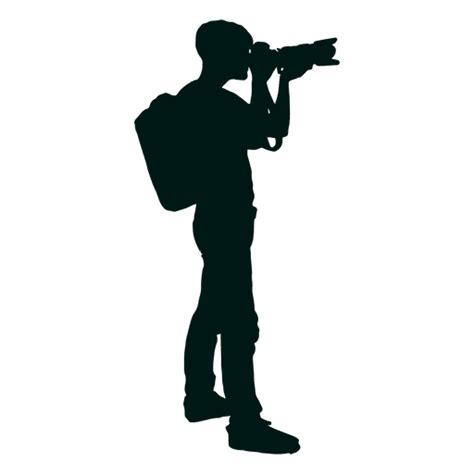 13276 photographer silhouette png fot 243 grafo con mochila disparando silueta descargar png