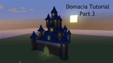 minecraft domacia castle tutorial part  xbox  pc youtube