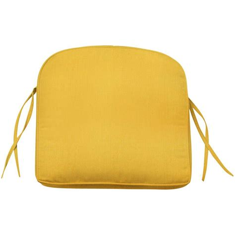 home decorators collection sunbrella daffodil contoured