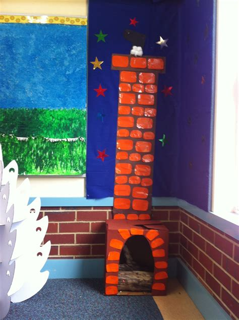 A Home With A Play Area For by Santa Home Corner Dramatic Play Area For