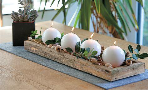 Weihnachtskranz Aus Holz by Adventskranz Dekorieren Selbst De