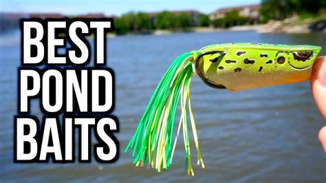 bass fishing pond baits tips