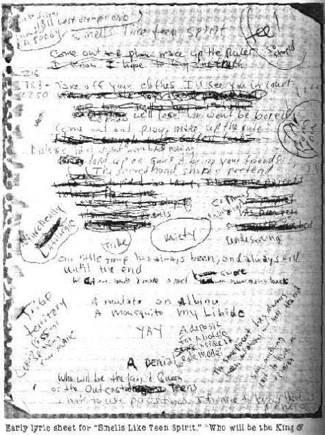kurt cobain letter 87 best quot l vε kїll 167 quot images on riot grrrl 31427