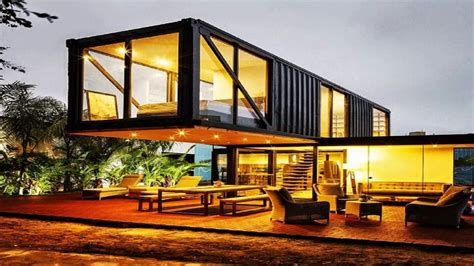modern 1 house plans modern cabin container home designs
